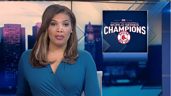 NECN News Over The Shoulder Red Sox Win World Series
